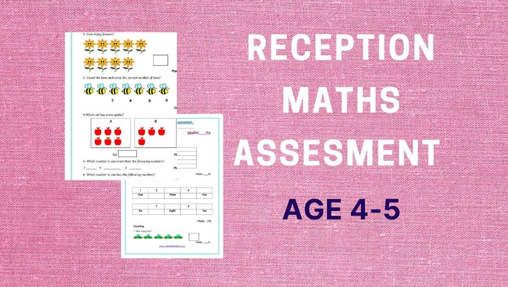 Reception Maths Assessment 2