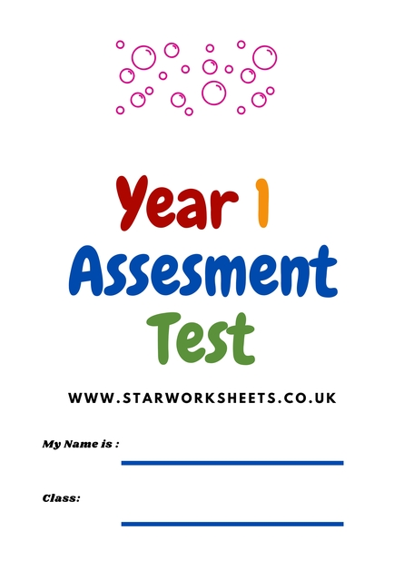 Year 1 Age 5 6 Maths Assessment Workbook. 1 001