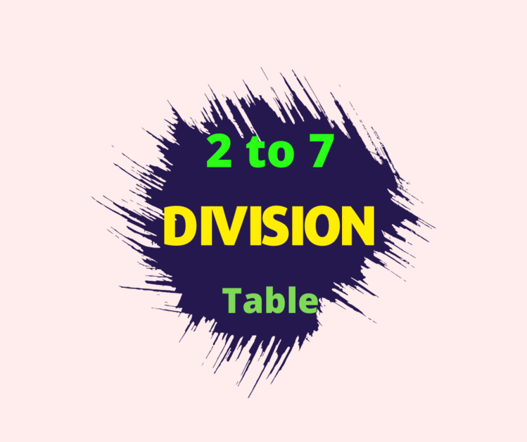 division table