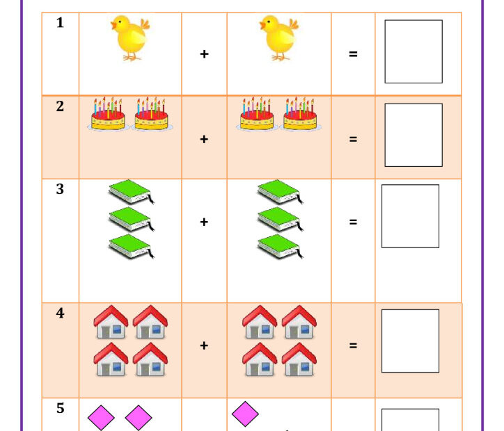 thumbnail of Addition with sum upto 10