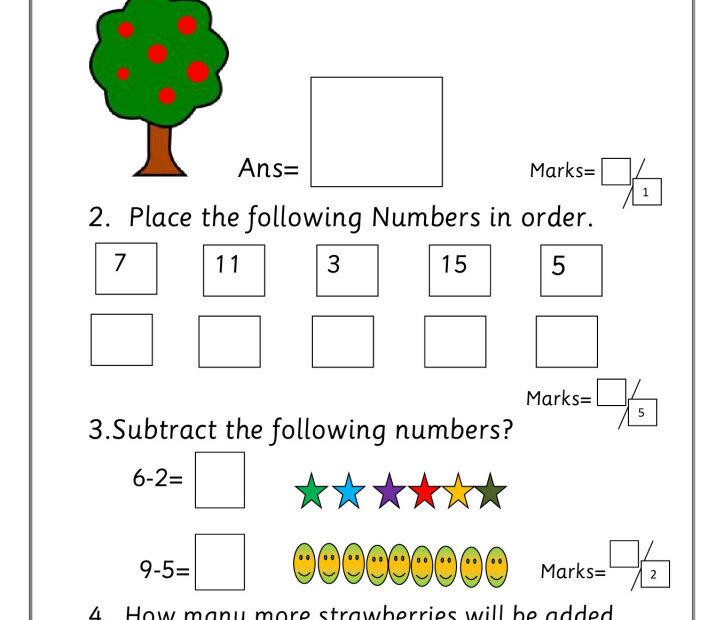 thumbnail of EYFS addition subtraction test
