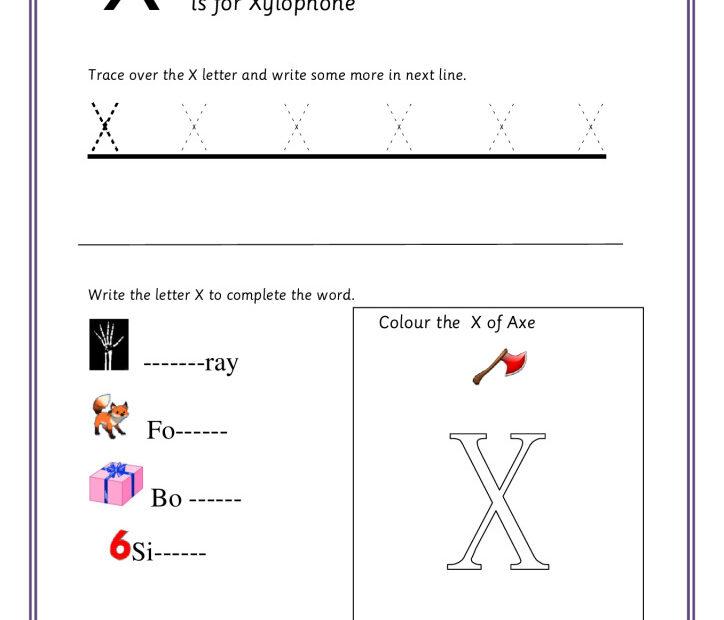 thumbnail of Practice-Capital-Letter-X-worksheet