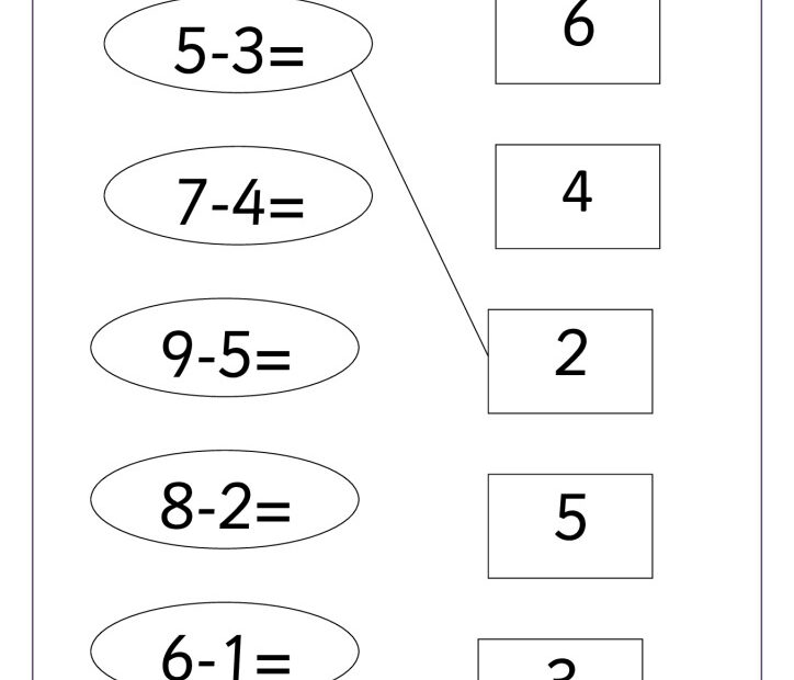 thumbnail of Subtraction up to 10.