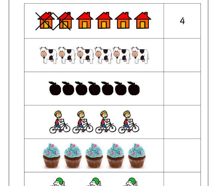 thumbnail of Subtraction with pictures up to 5