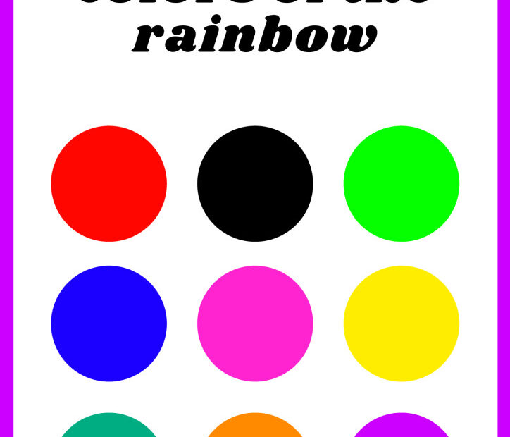 thumbnail of Tick the Colors of the rainbow.