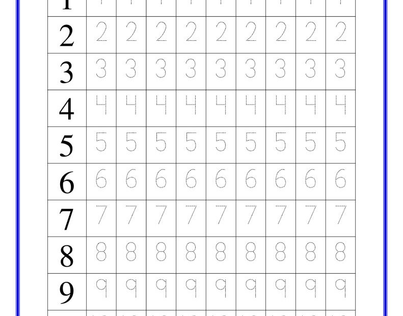thumbnail of number 1-to-20-tracing-worksheet-pdf-free-printable
