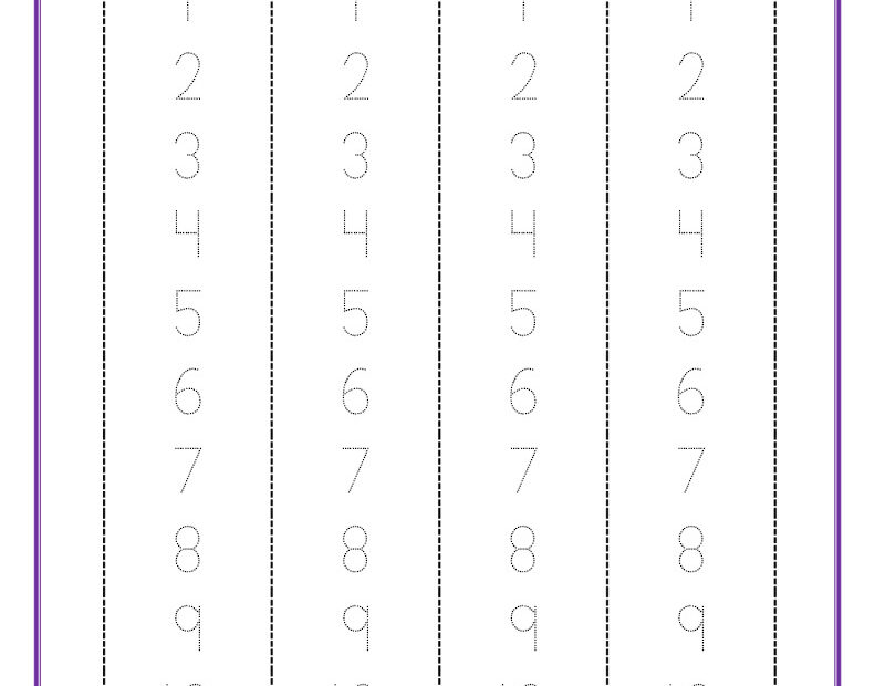 thumbnail of number-formation-0-to-10-free-pdf-printable-strips