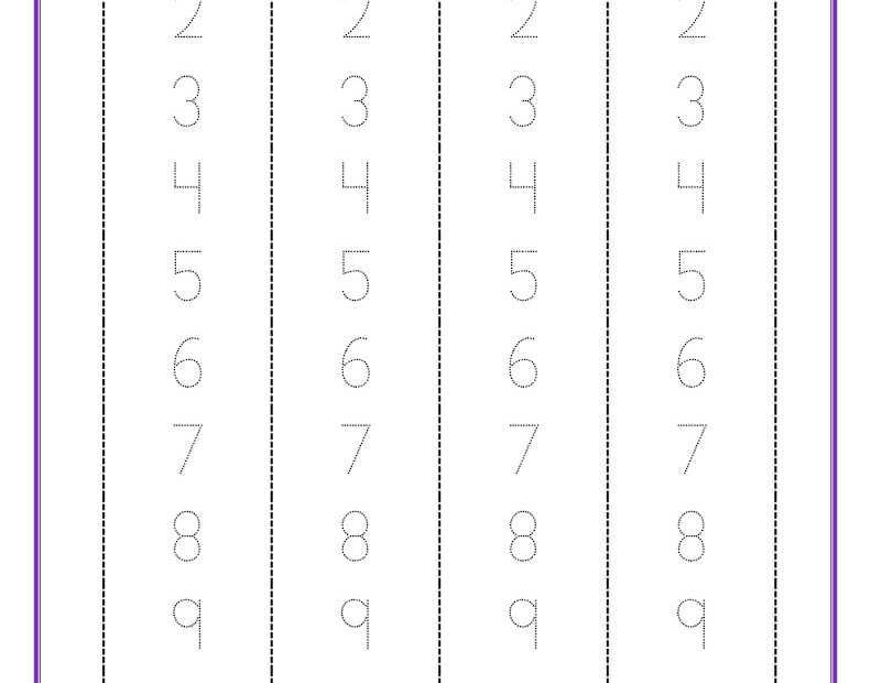 thumbnail of number-formation-1-to-20-free-pdf-printable-strips