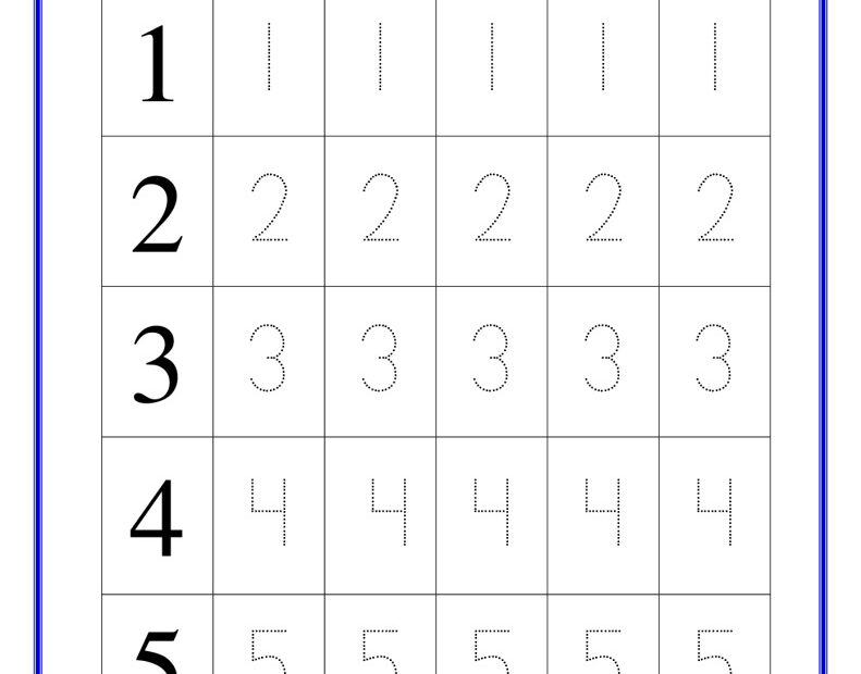 thumbnail of trace-the-numbers-1-to-5-reception-maths-worksheets
