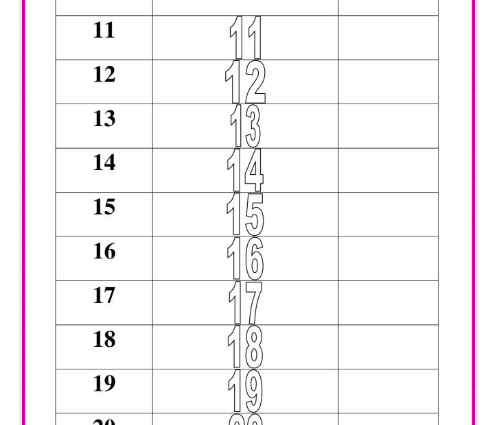 thumbnail of writing-numbers-11-to-20