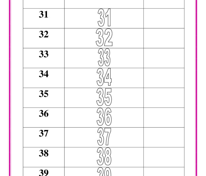 thumbnail of writing-numbers-31-to-40